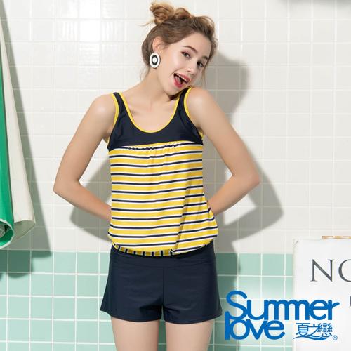 【夏之戀SUMMERLOVE】大女長版三件式泳衣S19713