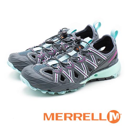 MERRELL(女)CHOPROCK SHANDAL水陸兩棲鞋-灰