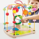 Boby 木製大號寶寶學習串珠玩具(兒童繞珠)(bb0707)