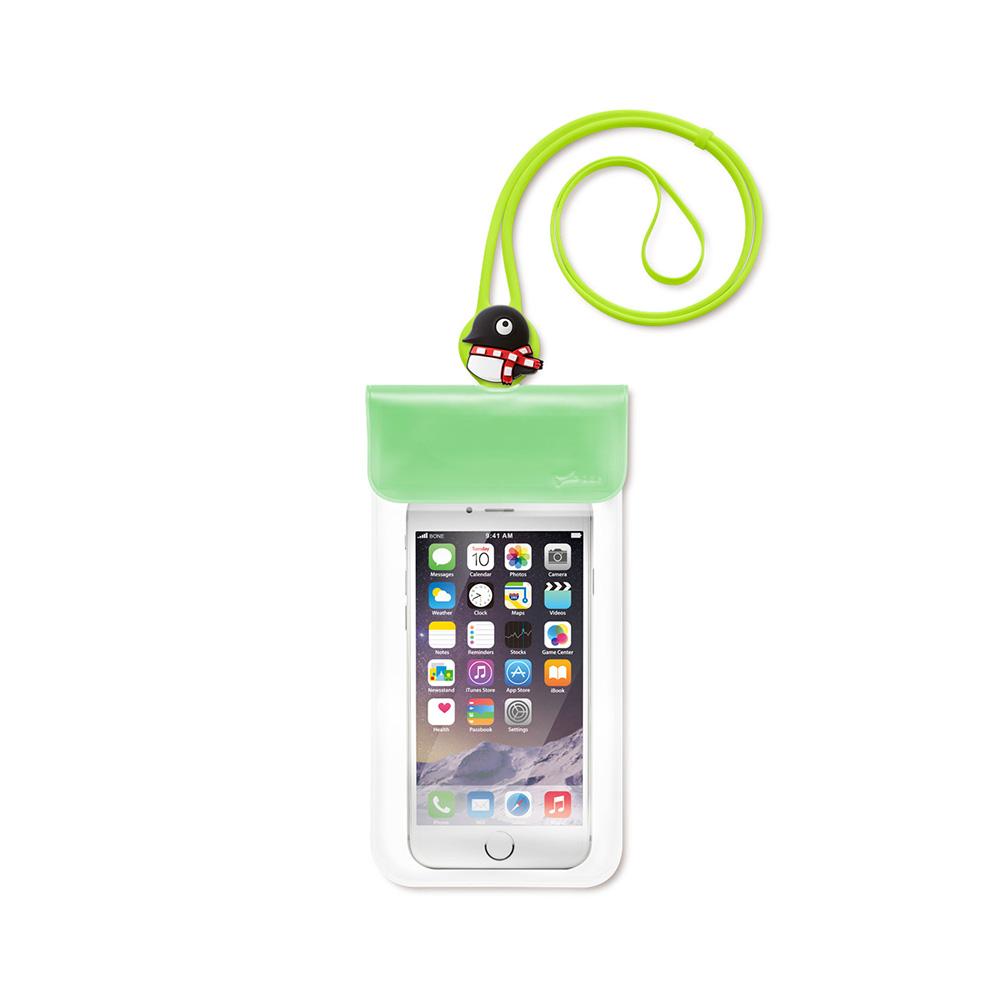 【Bone】Waterproof Phone Bag 防水手機袋 - 企鵝小丸