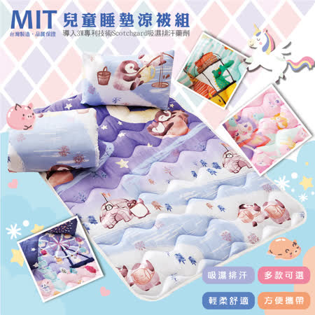 ARTIS-3M吸濕排汗 兒童睡墊涼被組2入