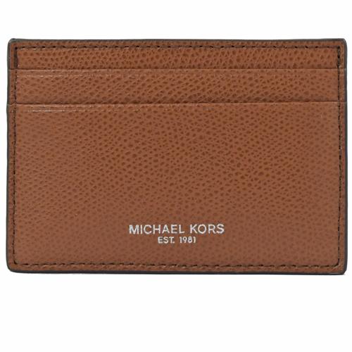 MICHAEL KORS WARREN 信用卡鈔票夾禮盒組.咖色