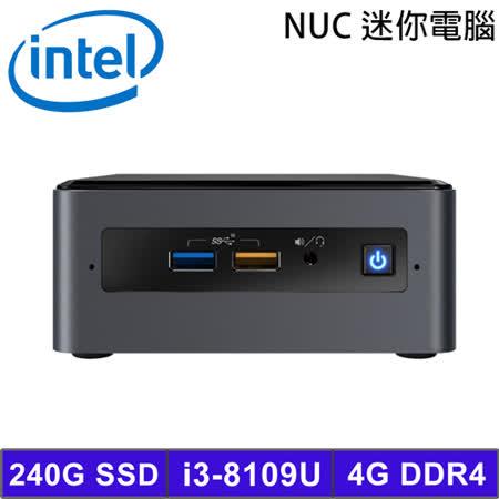 Intel NUC i3迷你電腦 BOXNUC8i3BEH1