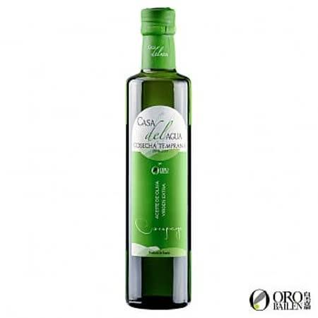 【皇嘉 OroBailen】頂級冷壓初榨橄欖油(CASA DEL AGUA) 500ML