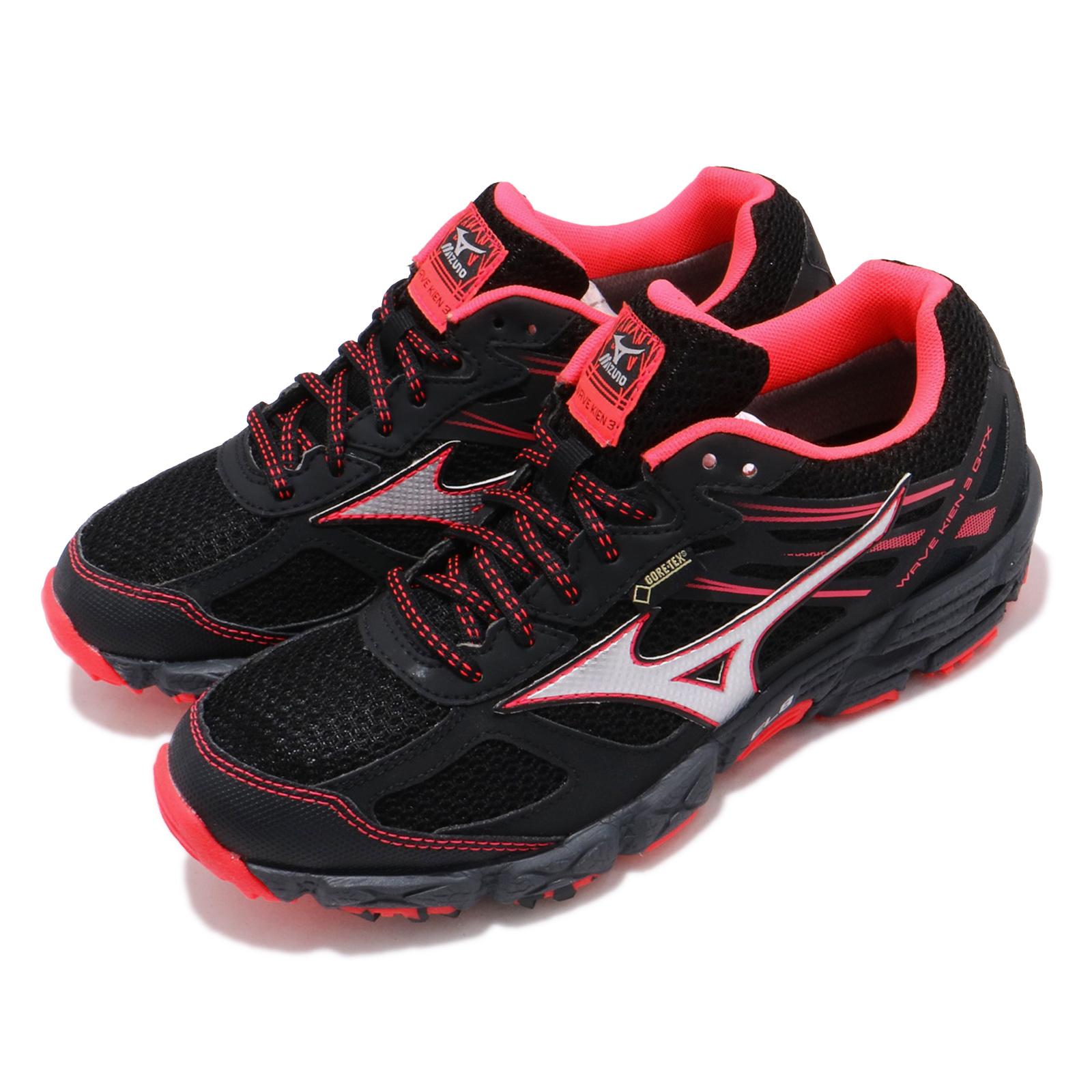Mizuno 慢跑鞋 Wave Kien 3 GTX 女鞋 J1GK1659-03