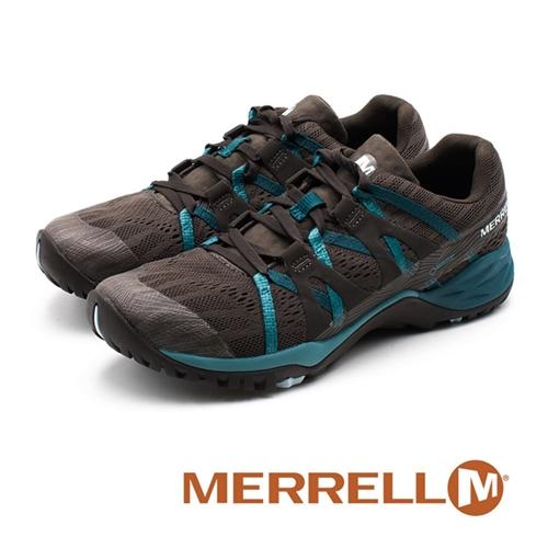 MERRELL Siren Hex Q2 E-Mesh 防水GORE-TEX郊山健行鞋 女鞋 - 鐵灰(另有藍紫)