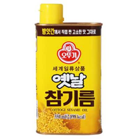 【韓國不倒翁】 100%純芝麻油 350ML