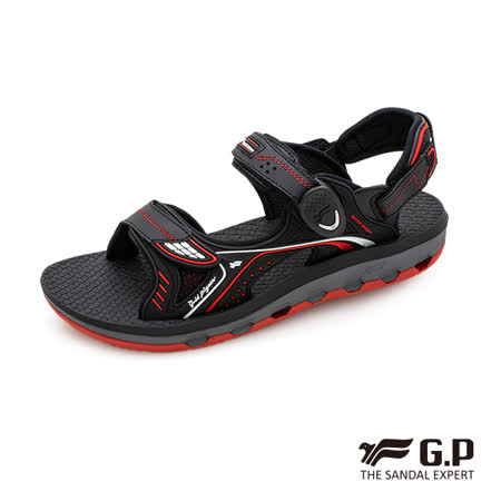 G.P 透氣舒適磁扣兩用涼拖鞋