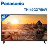 │Panasonic│國際牌 49吋 4K UHD 聯網液晶電視 TH-49GX750W
