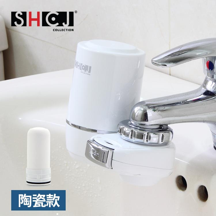 【SHCJ生活采家】浴室水龍頭矽藻陶瓷活性碳淨水過濾器#99427