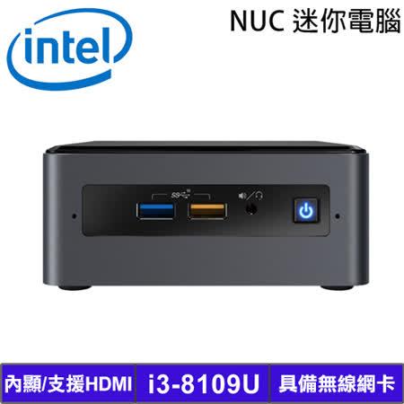 Intel NUC i3-8109U 迷你準系統電腦