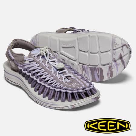 美國 KEEN UNEEK 輕量 透氣拉繩編織涼鞋.溯溪鞋