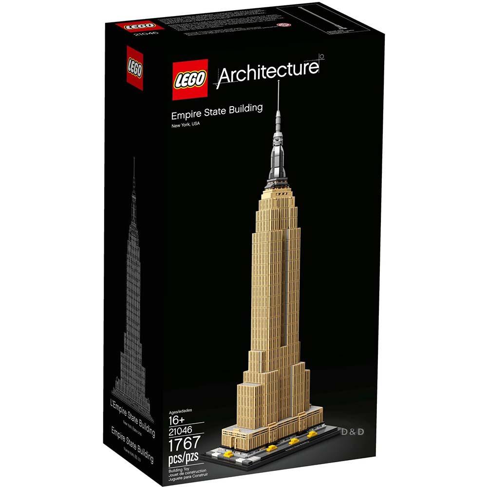 樂高積木 LEGO《 LT21046 》ARCHITECTURE 世界建築系列 - 帝國大廈