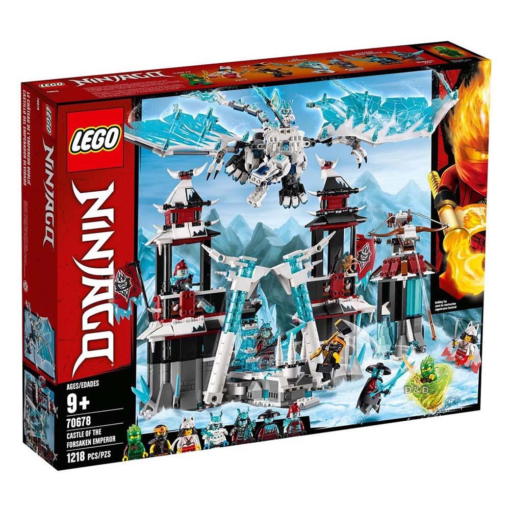 樂高積木 LEGO《 LT70678 》 NINJAGO 旋風忍者系列 - 遺落的帝王城堡