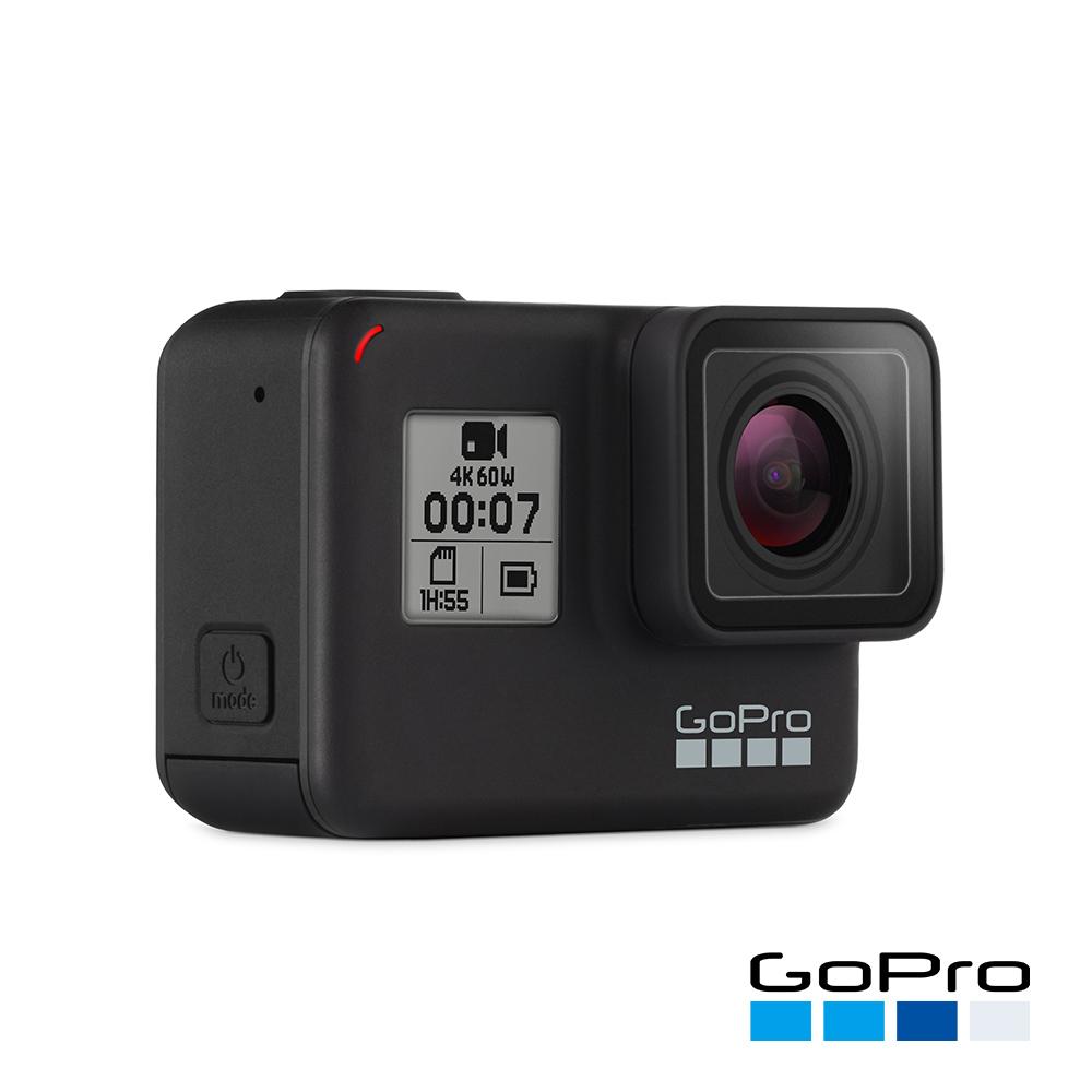 【GoPro】HERO7 Black運動攝影機CHDHX-701-RW(忠欣公司貨)