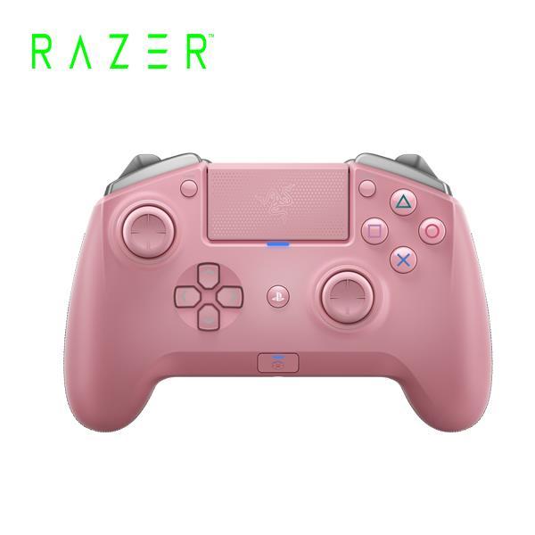 雷蛇Razer Raiju TE Quartz 颶獸競技粉晶版 PS4無線把手