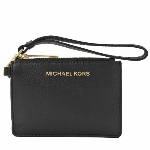MICHAEL KORS Jet Set Travel 手提證件卡夾零錢包.黑