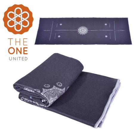 【The One】鑽石紋 正位線止滑瑜珈舖巾