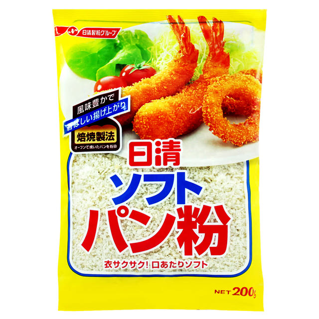 【日清】食品 麵包粉 200G