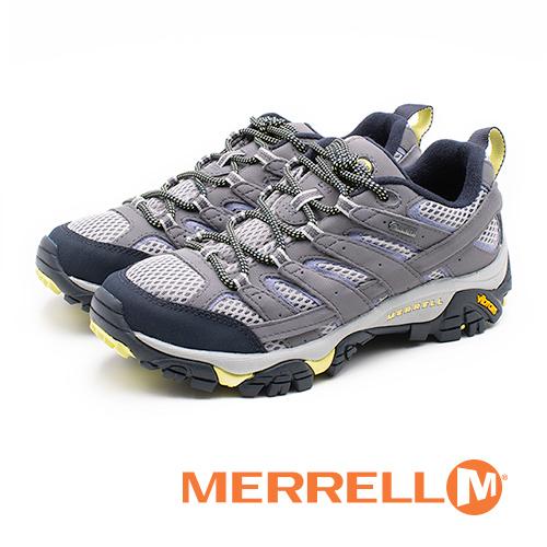 MERRELL MOAB 2 GORE-TEX 防水郊山健行鞋 女鞋 - 灰