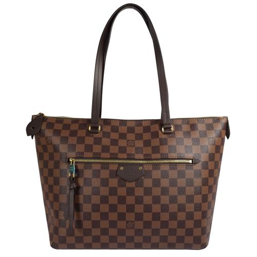 Louis Vuitton LV N41013 Iéna MM 經典棋盤格紋肩背包_預購