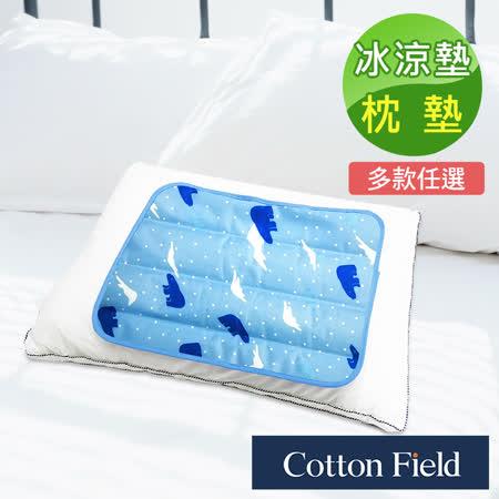棉花田 酷涼冷凝枕墊墊2入
