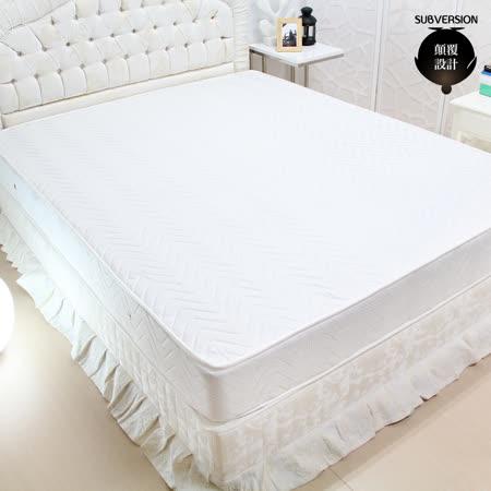 顛覆設計 超舒適二線獨立筒床墊