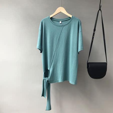 nata 棉質綁帶設計上衣