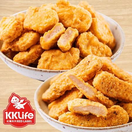 KKLife-紅龍 雙拼炸物5袋組(2包/袋)