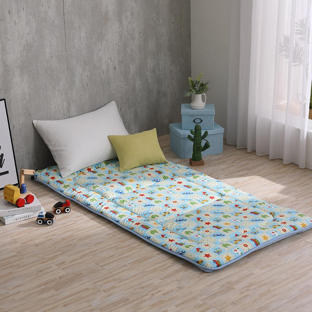 LAMINA 玩具車樂園 100%純棉日式床墊5cm(單人)