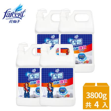 潔霜-S 強效抗菌浴廁清潔劑4入