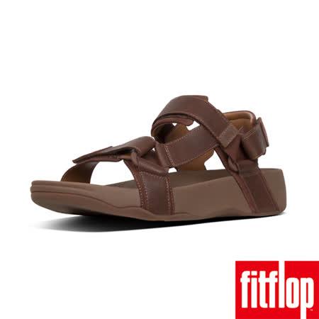 FitFlop 牛巴戈皮革涼鞋