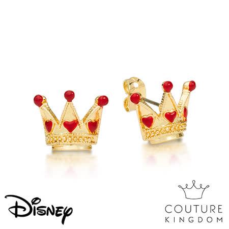 Couture Kingdom 迪士尼紅心皇后耳釘