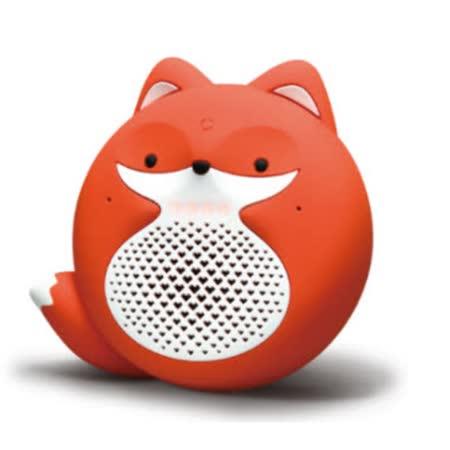問問智慧音箱 - 小狐狸 (橘白)