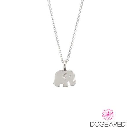 DOGEARED  大象純銀許願項鍊