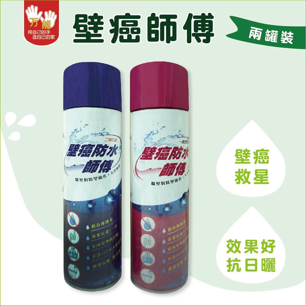 [雙手萬能] 壁癌防水師傅(2罐裝)