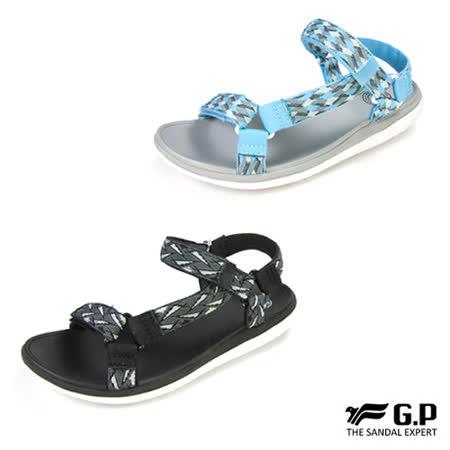 【G.P 女款簡約織帶涼鞋】G8695W39 (共二色)
