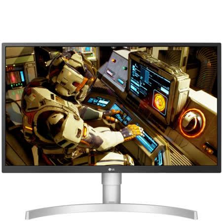 樂金27型4K AH-IPS 電競螢幕27UL550-W