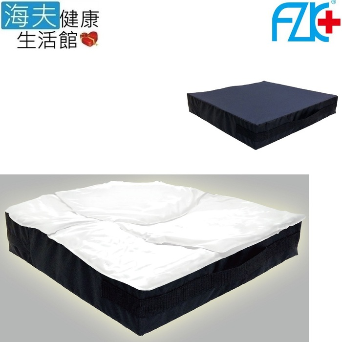 【海夫健康生活館】舒柔型 液態 凝膠 坐墊 18吋(KZ016)