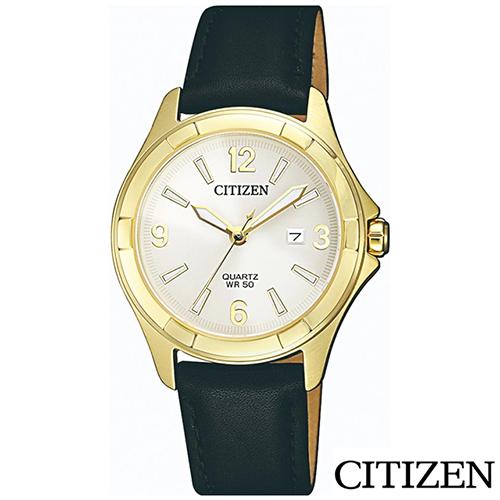 CITIZEN星辰  率性魅力石英女錶 EU6082-01A