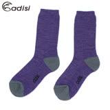 ADISI 美麗諾對折羊毛保暖襪AS17111(M-XL) / 城市綠洲(中筒襪、滑雪襪、毛襪)