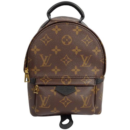 Louis Vuitton LV M41562 Palm Springs Mini 經典花紋斜背後背包 _現貨 (專櫃缺貨款)