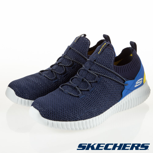 SKECHERS (男) 休閒系列 ELITE FLEX - 52527NVMT