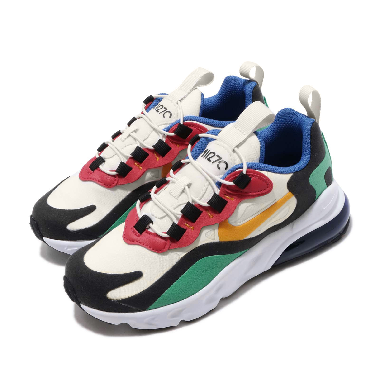 Nike 休閒鞋 Air Max 270 RT 運動 童鞋 BQ0102-001