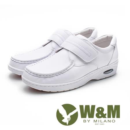 W&M  彈力魔鬼氈護士鞋