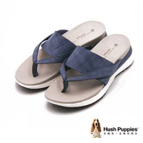 Hush Puppies IVA AZALEA系列 淑女格紋夾腳拖鞋