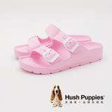 Hush Puppies 輕量休閒增高拖鞋 女鞋-粉(另有深咖、白)