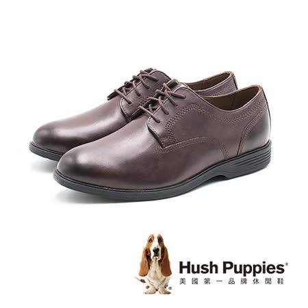 Hush Puppies 男 皮革牛津鞋