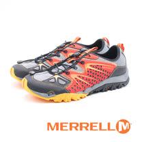MERRELL CAPRA RAPID水陸兩棲鞋 男鞋-橘紅/灰藍