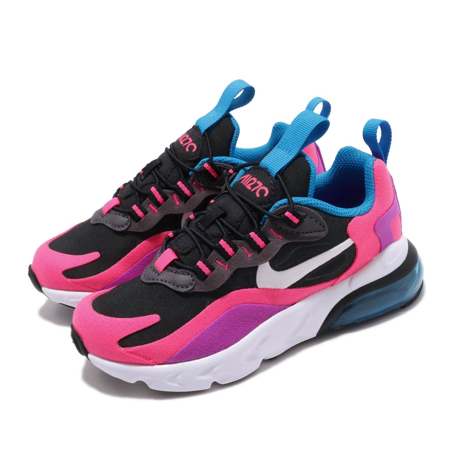 Nike 休閒鞋 Air Max 270 RT 運動 童鞋 BQ0100-001